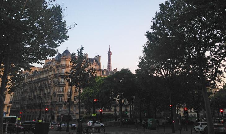Неделя в Париже