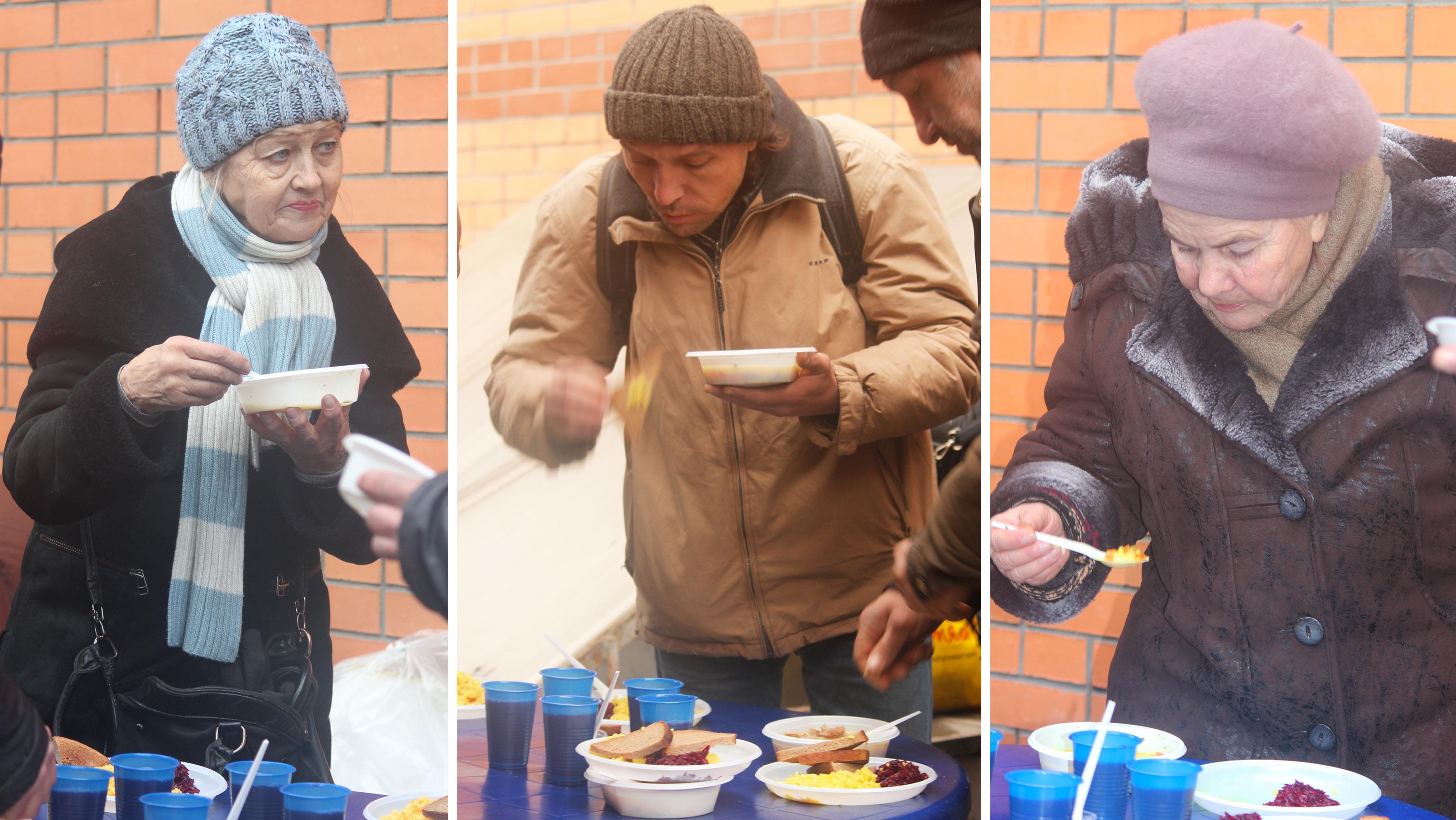 """Как я кормила бездомных с фондом """"Пища Жизни"""""""
